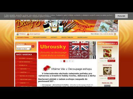 www.decoupage-eshop.cz