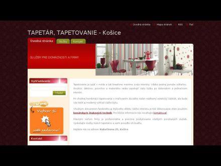 www.tapetar-tapetovanie-kosice.sk