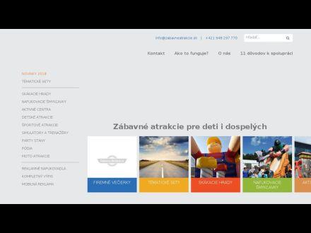 www.zabavneatrakcie.sk