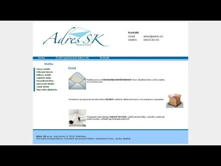 www.adres.sk