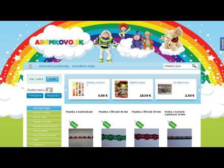 www.adamkovo.sk