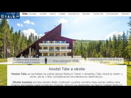 www.hosteltale.sk