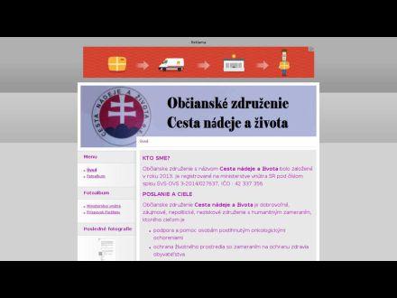 www.cestanadejeazivota.estranky.sk