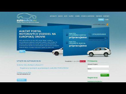 www.autoaukcie.eu