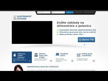 www.elektronickyuctovnik.sk