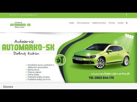 www.autoservismarko.sk