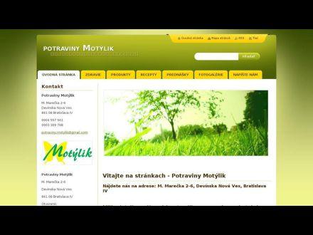 www.potraviny-motylik.sk