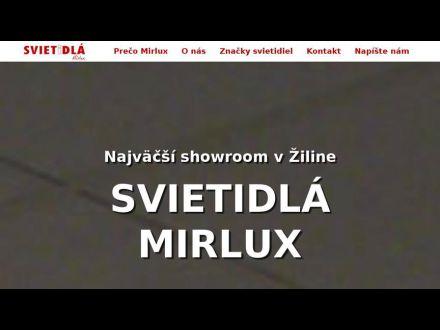 www.svietidla-mirlux.sk
