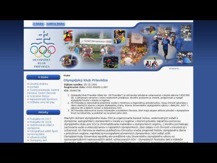 www.olympijskyklubprievidza.eu