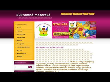 www.detskecentrumrozpravkovo.sk