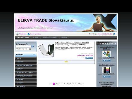 www.elikvatrade.sk