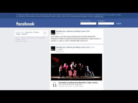 www.facebook.com/pages/Divadlo-bez-zabran-pri-Malej-scene-STU/1397817630531707