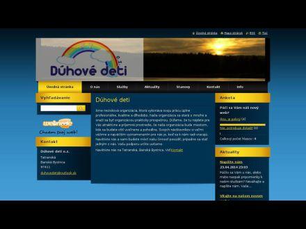 www.duhove-deti.webnode.sk