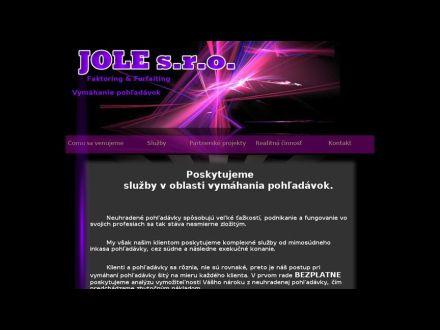 www.jolepoprad.sk