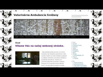 www.veterinasmizany.sk
