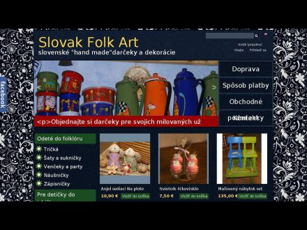 www.slovakfolkart.com