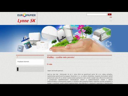 www.lynnesk.sk