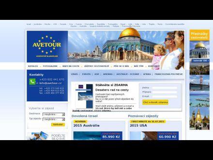 www.avetour.cz
