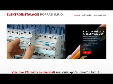 www.elektroinstalaciepoprad.sk
