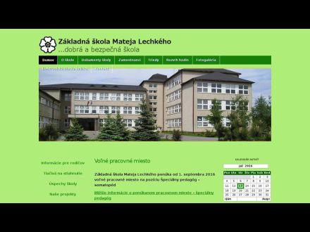 www.zslechkeho.edupage.org