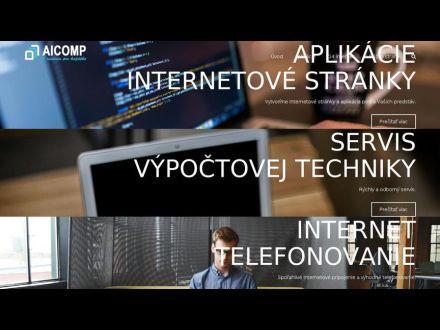 www.aicomp.sk