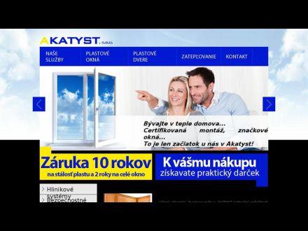 www.akatyst.sk
