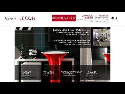 www.lecon.sk