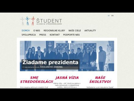 www.alianciastudent.sk