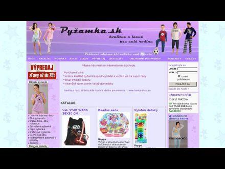 www.pyzamka.sk