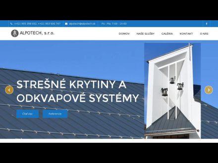 www.alpotech.sk