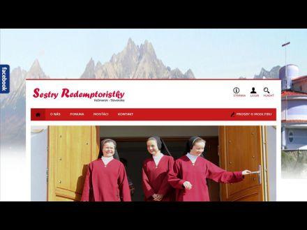 www.redemptoristky.sk
