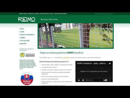 www.remo-handlova.sk