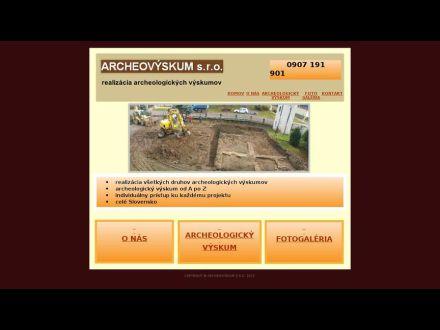 www.archeovyskum.sk