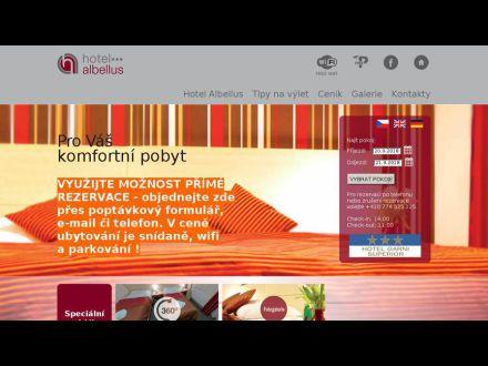 www.hotelalbellus.cz