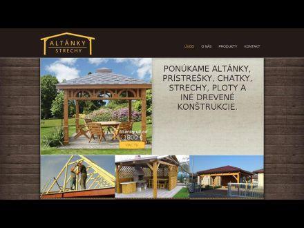 www.altanky-strechy.sk