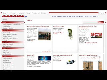 www.garoma.cz