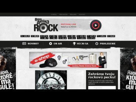 www.antenarock.sk