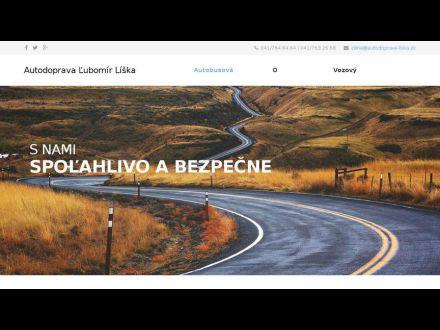 www.autodoprava-liska.sk