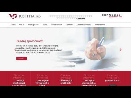 www.justitiasro.sk