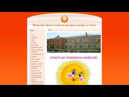 www.mscsa-snina.estranky.sk