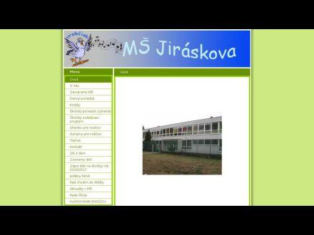 www.msjiraskova.estranky.sk