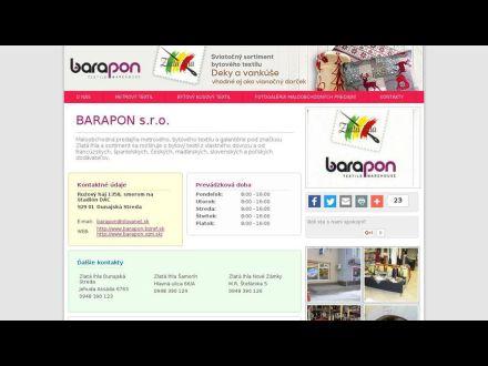 www.barapon.sk