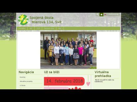 www.zsmierusvit.edu.sk