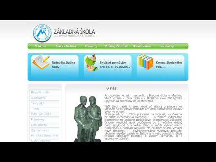 www.zsmudrona.sk