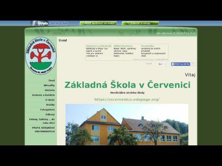 zscervenica.wbl.sk