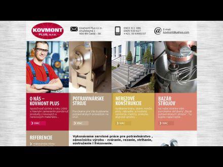 www.kovmont.sk
