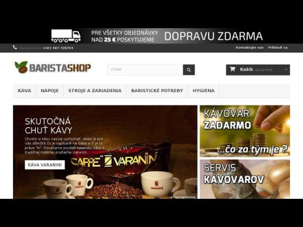 www.baristashop.sk