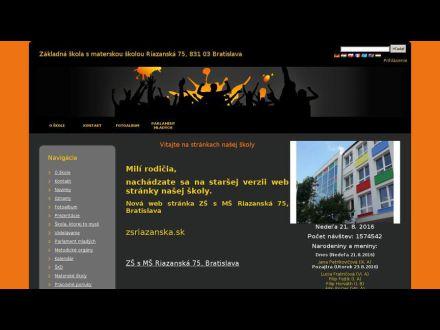 www.zsriazanska.edupage.org