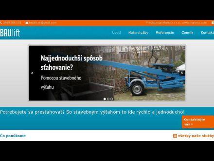 www.baulift.sk