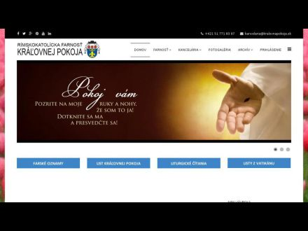 www.kralovnapokoja.sk